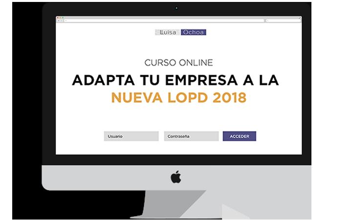Adapta tu empresa lopd 2018 lluisa ochoa for Formulario desistimiento